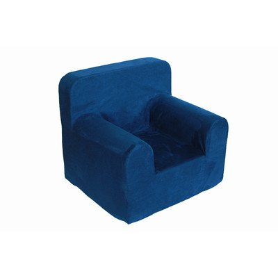 Sanford Foam (Crew Furniture 991680 Bitty Chair Microfiber Chair, Estate Blue, One)