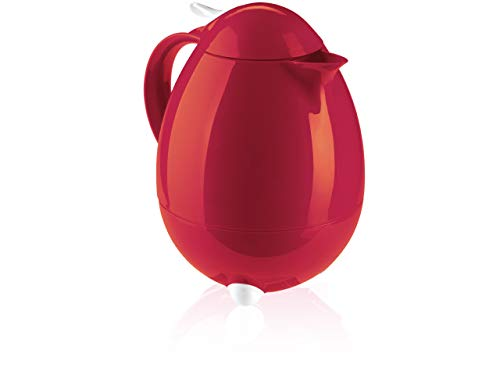 Leifheit 28336 Insulated Carafe, 1/4 gallon, Red ()