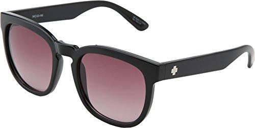 Spy Optics Women's Quinn Merlot Fade Round Sunglasses,Black,54 mm