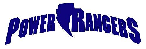 Power Rangers Dressing Up (Power Rangers Logo (NAVY BLUE) (set of 2) - silhouette stencil artwork by ANGDEST - Waterproof Vinyl Decal Stickers for Laptop Phone Helmet Car Window Bumper Mug Cup Door Wall Home Decoration)