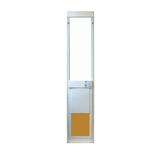 Large Power Pet Sliding Glass Dog Door Extra Tall by High Tech Pet