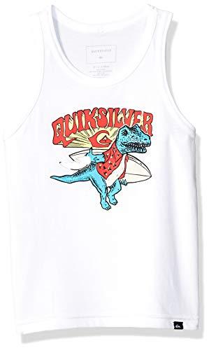 Quiksilver Boys' Little Dino SURF Tank, White, 6