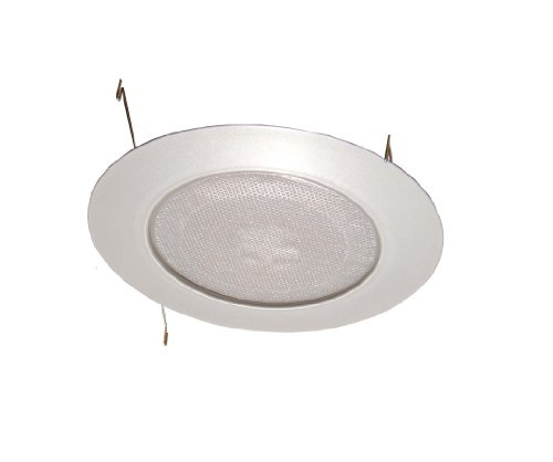 Trim Shower Lens Recessed Light (6 Inches Albalite Lens Shower Trim for Recessed Light/Lighting)