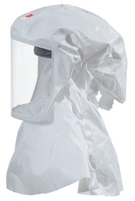 3M Versaflo S-433S-5 White Small/Medium Polypropylene Hood - 70071533197 [PRICE is per CASE] by 3M
