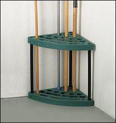 Amazon.com : Corner Garden Tool Rack : Corner Shovel Rake