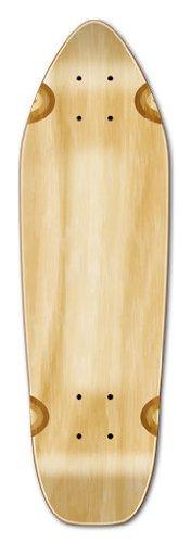 Free Skateboard Deck - Blank & Graphic Longboard Deck MINI CRUISER - BANANA CRUISER 27