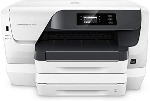 HP Officejet Impresora Pro 8218 - Impresora de tinta (A4, Impresora, USB 2.0, Ethernet, Wifi, 600 x 1200, 500 hojas 22 S./Min), Blanco