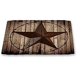 Western Texas Star doormat,23.6x15.7inch