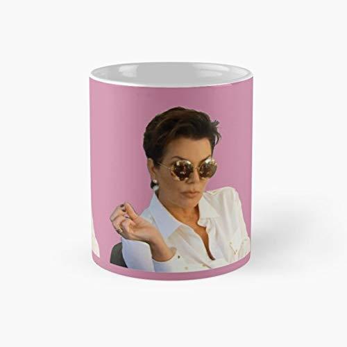 Kris Jenner Mug, kris Funny Mugs, 11 Ounce Ceramic Mug, Perfect Novelty Gift Mug, Tea Cups, Funny Coffee Mug 11oz, Tea -