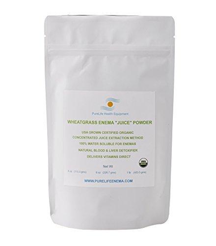 Wheatgrass Juice Powder Detoxification Energizer