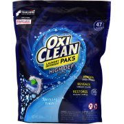 OxiClean HD Laundry Detergent Paks, Sparkling Fresh, 47 Count (8) by OxiClean
