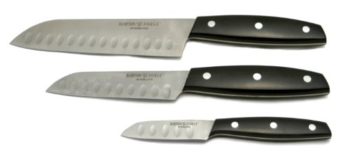 Hampton Forge Mirage 3-Piece Santoku Knife, HMC01A040L