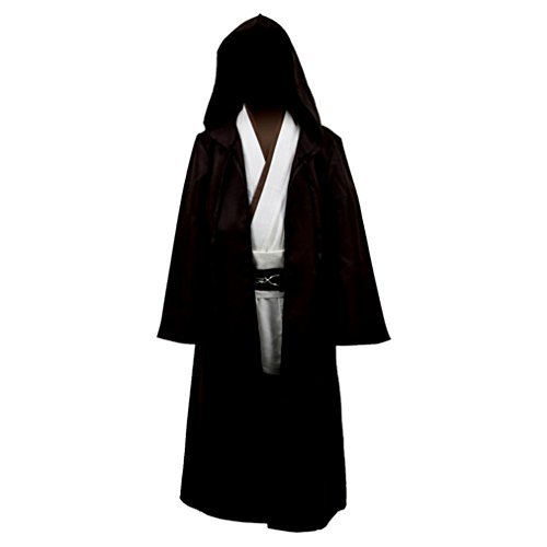 Kid's Warrior Cospaly Capes Jedi Robe Full Set Halloween (Jedi Warrior Costumes)
