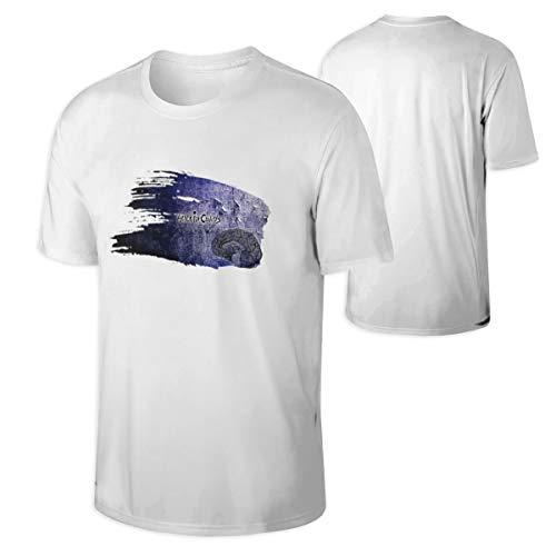 RobbinsTonya Alice in Chains Men Classic Bonus Neck T-Shirt White S ()