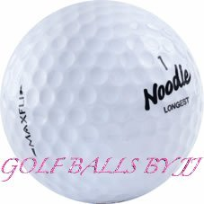 Maxfli (50) noodle mix aaaa/near mint used golf balls