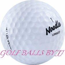 (50) Maxfli noodle mix aaaa/near mint used golf balls