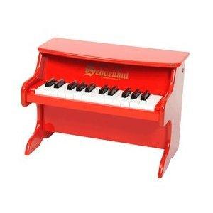 Schoenhut 25-Key My First Piano II, Red from Schoenhut Piano Co. Inc. - DROPSHIP