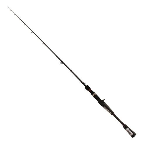 Daiwa Foam Rod - Daiwa LAG601MHFB 6-Foot Laguna Trigger Rod with 10 to 20-Pound Line Weight, Fast Action, No. 8 Guides, Black Finish