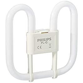 Philips PL-Q Compact Fluorescent 2 Pin Light Bulb (GR8 16W) – Warm White