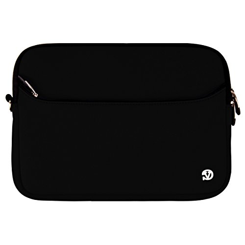 Vangoddy SumacLife Neoprene Laptop Sleeve for 10, 11, 12, 13, 14, 15, and 17-inch Notebook/Laptop and Netbook + SumacLife TM Wisdom Courage ()