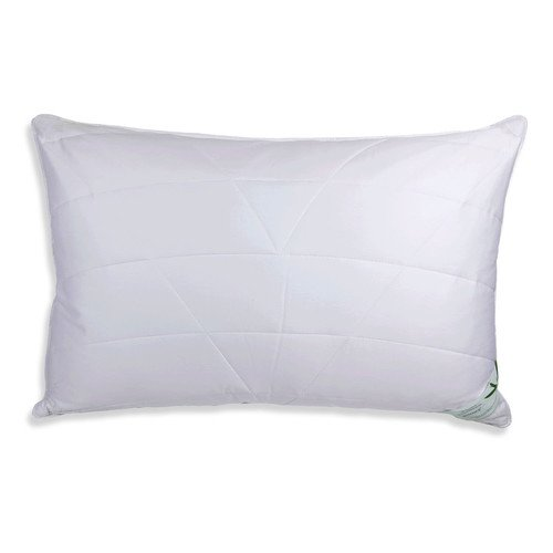 Luxurious Anti Allergy Quilted Bamboo Pillow 50 x 75cm Organic Moisture...