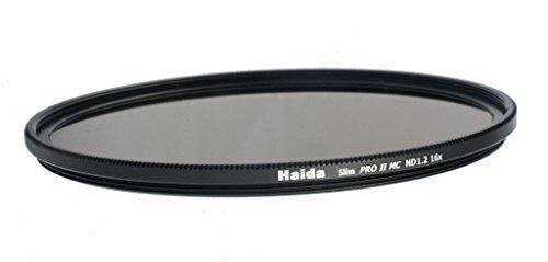 mehrschichtverg/ütet ND3.6 Haida Slim Extrem ND Graufilter PRO II MC 52mm inkl Cap mit Innengriff 4000x