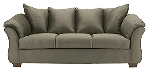 Ashley Furniture Signature Design - Darcy Sleeper Sofa - Full Size - Ultra Soft Upholstery - Contemporary - - Upholstery Living Room Furniture