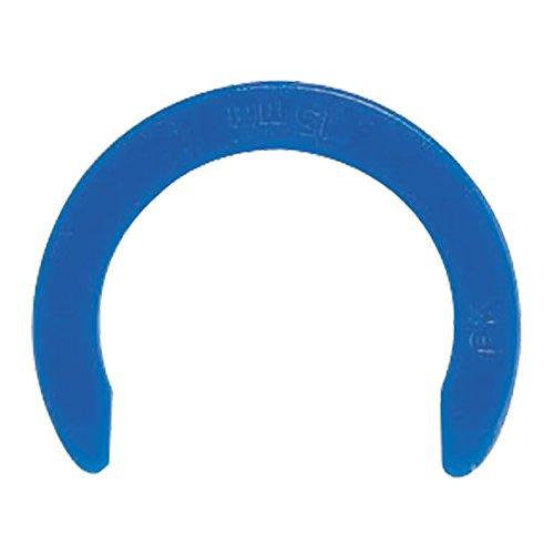 JG Speedfit CM1822B Collet Locking Clip, Blue, 22 mm, Set of 100 Pieces