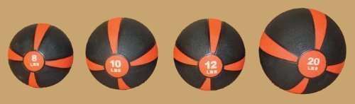 8 lb Rubber Medicine & Slam Ball