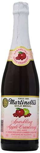 (Martinelli's Sparkling Apple-Cranberry Juice, 25.4 oz)