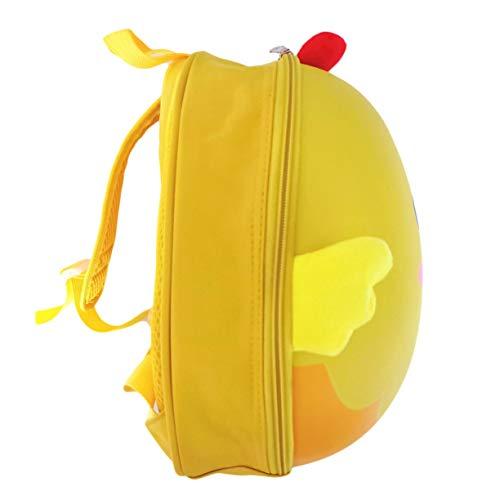primaire sacs bande bandoulière à durs coquille maternelle sacs de à imperméable l'eau d'école Unique forme d'oeuf de en dessinée poussins coquillages 3D enfants Tn7qZ01w