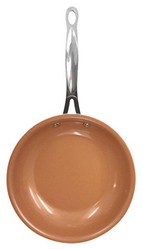BestofTv/M6 Gotham Steel Sartén de cerámica/Titanio de Color Negro, 32 x 32 x 5 cm, anunciada en TV: Amazon.es: Hogar