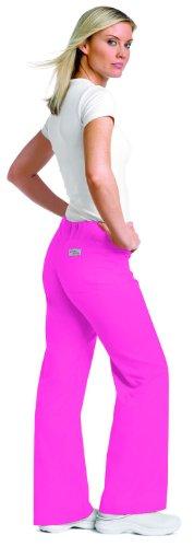 urbane-essentials-womens-boot-cut-scrub-pants-x-small-petite-carnation