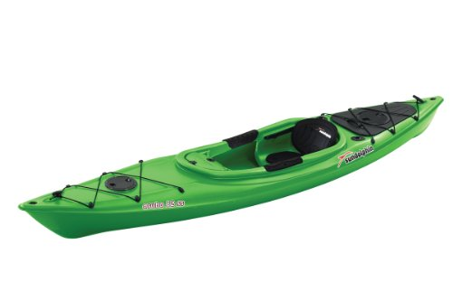 Sun Dolphin Aruba SS Sit-in Kayak (Lime, 12-Feet)