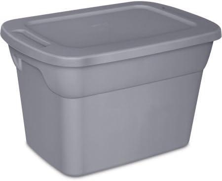 Sterilite 10-Gallon bolsa caja, gris: Amazon.es: Hogar