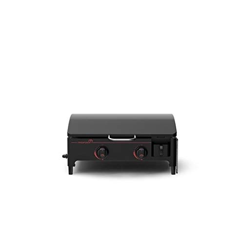 Megamaster 820-0054D Propane Gas Griddle / Plancha, Black by Megamaster