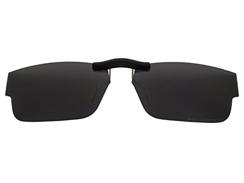 Custom Fit Polarized CLIP-ON Sunglasses For Oakley Airdrop (51) OX8046 51X18 - Sunglasses Air