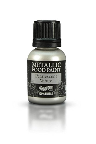 1-x-ready-to-use-metallic-pearlescent-white-100-edible-food-paint-for-cake-and-icing-decoration