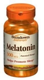 Sundown Naturals Melatonin, 300