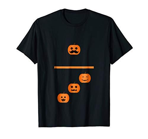 Pumpkin Emoji Domino 1 3 Halloween Matching Costume T -