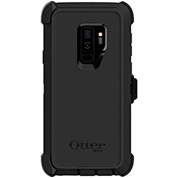 quality design 061d0 517f9 OtterBox DEFENDER SERIES Case & Holster for Samsung Galaxy S9 Plus - New  SCREENLESS design - (Renewed) (Black)