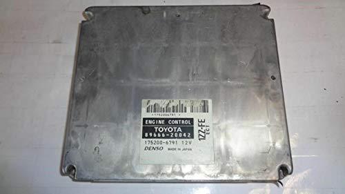 - REUSED PARTS Toyota CELICA Engine ECM Electronic Control Module GT 89666-20042 8966620042
