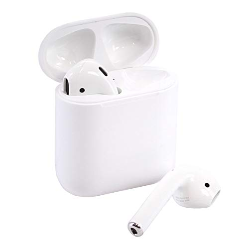 Apple AirPods 2 with Charging Case – White (Renewed)