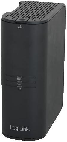 "LogiLink NS0045A Gigabit LAN NAS Server, 1-Bay, für 1x 3,5"" SATA HDD"