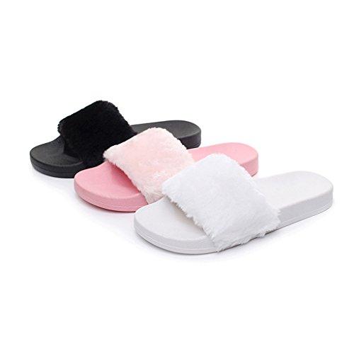 BELLOO - Zapatillas de estar por casa para mujer Rosa