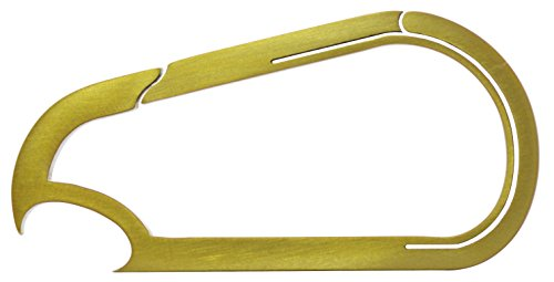Cheap Bico Keyklipz Men's Bottle Opener Titanium Carabiner Keychain, One Size, Gold