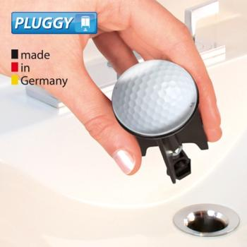 WENKO Pluggy Waschbeckenstöpsel Golf