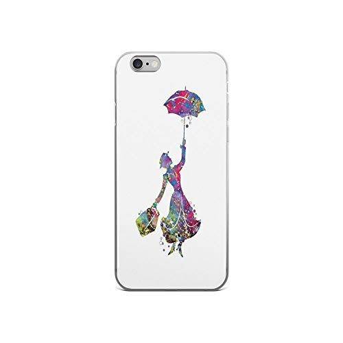 iPhone 6 Case iPhone 6s Case Cases Clear Anti-Scratch Mary Poppins, Mary Poppins Cover Case for iPhone 6/iPhone 6s, Crystal Clear]()