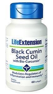 Black Cumin Seed Oil with Bio-Curcumin 60 softgels-Pack-2