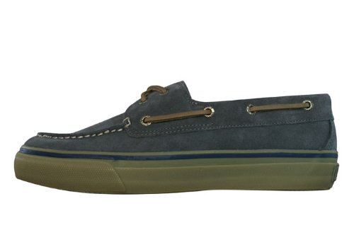 Sperry Top-Sider Bahama Suede Grey Mens Boat Shoes, Size 9.5
